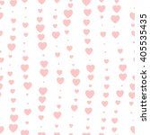 seamless background hearts... | Shutterstock .eps vector #405535435