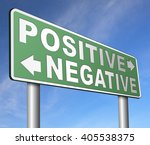 positive thinking or think... | Shutterstock . vector #405538375