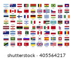 set of true proportions flags... | Shutterstock .eps vector #405564217