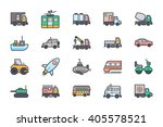 Transport Illustration Icons 2