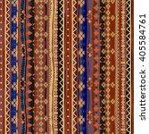 ethnic boho seamless pattern....   Shutterstock .eps vector #405584761