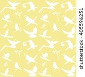 vector collection of bird... | Shutterstock .eps vector #405596251