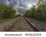 Railroad Tracks Of The...