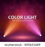 spotlight on stage for your... | Shutterstock .eps vector #405641689