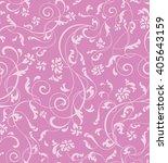 ornamental floral seamless... | Shutterstock .eps vector #405643159
