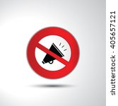 no noise turn off sound...   Shutterstock .eps vector #405657121