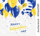 uruguay independence day...   Shutterstock .eps vector #405660589