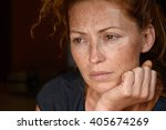 portrait of young attractive...   Shutterstock . vector #405674269