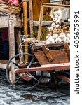 Old Wheelbarrow Full Of Onions...