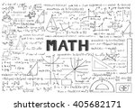 Hand Drawn Math Formulas For...
