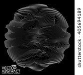 abstract vector white mesh on... | Shutterstock .eps vector #405694189
