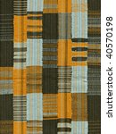 Patchwork. Woven Stripes  26.7...