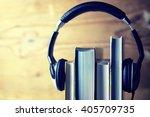 Headphones Audiobook Concept