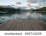Evening View Of Bled Lake With...