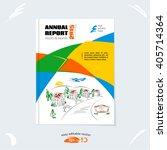 brochure template  cover design ...   Shutterstock .eps vector #405714364