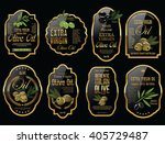 olive oil retro vintage... | Shutterstock .eps vector #405729487