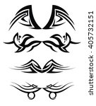 tribal tattoo art vector | Shutterstock .eps vector #405732151