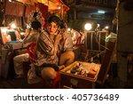 bangkok  thailand    february... | Shutterstock . vector #405736489