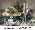 Mince Pies And Champagne
