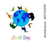 animals around planet earth