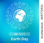 vector poster for april 22 ... | Shutterstock .eps vector #405772921