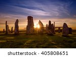 callanish stone circle | Shutterstock . vector #405808651