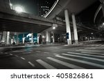 city road viaduct streetscape... | Shutterstock . vector #405826861