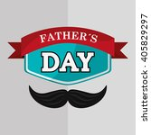 icon of fathers day design  ... | Shutterstock .eps vector #405829297