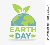 earth day poster template | Shutterstock .eps vector #405832174