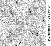 tracery seamless calming... | Shutterstock .eps vector #405834409