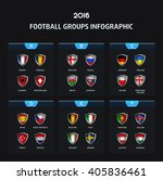 football icons flags of the... | Shutterstock .eps vector #405836461