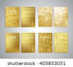 flyer design templates. set of... | Shutterstock .eps vector #405853051