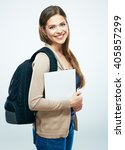student woman isolated portrait.... | Shutterstock . vector #405857299