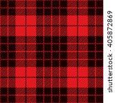 tartan seamless pattern. trendy ... | Shutterstock .eps vector #405872869