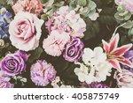 beautiful bouquet flower for... | Shutterstock . vector #405875749