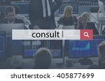 Small photo of Consult Advise Consulting Planning Strategy Concept