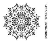 vector hand drawn doodle... | Shutterstock .eps vector #405879334