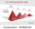 creative 3d vector infographics ... | Shutterstock .eps vector #405889264