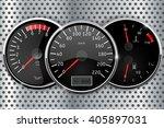 dashboard   speedometer ... | Shutterstock .eps vector #405897031