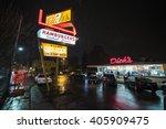 seattle  washington usa  ... | Shutterstock . vector #405909475