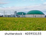 biogas plant   germany   Shutterstock . vector #405953155