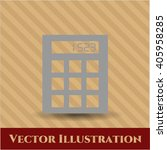 calculator icon   Shutterstock .eps vector #405958285