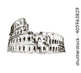 coliseum. italy attractions