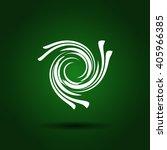 abstract swirl logo | Shutterstock .eps vector #405966385