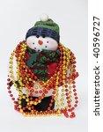 snowman adorned | Shutterstock . vector #40596727