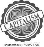 capitalism pencil effect | Shutterstock .eps vector #405974731