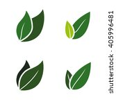ecology icon set | Shutterstock .eps vector #405996481