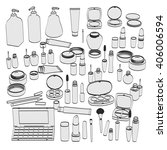 2d cartoon illustration of... | Shutterstock . vector #406006594