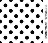 seamless polka dot pattern of... | Shutterstock .eps vector #406008811