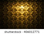 Abstract Golden Detailed...